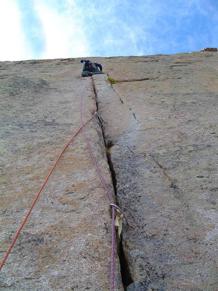 Crux pitch.