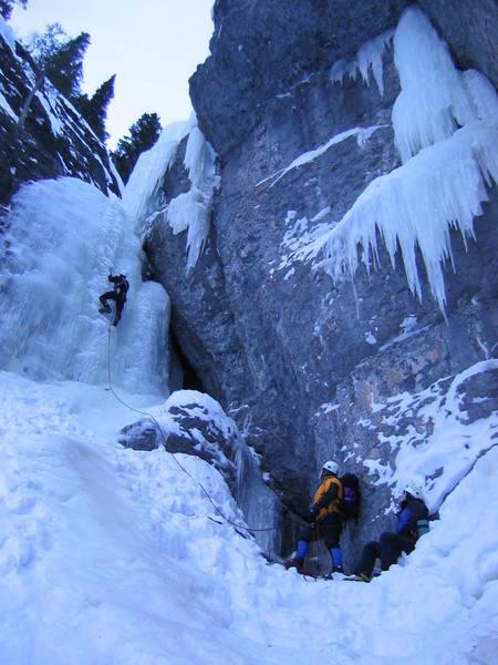Scott Papich Leading Slip Sliding Away - January 24th, 2004