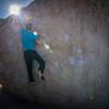Burst on the Birthday Boulder