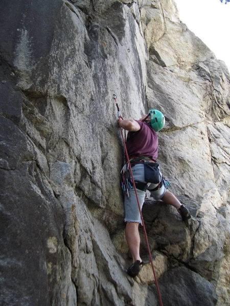 rock climbing in mountain rose  boulder canyon