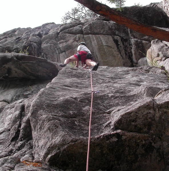 Peter Dillon leading the 5.9 slab start to Immaculate Deception.