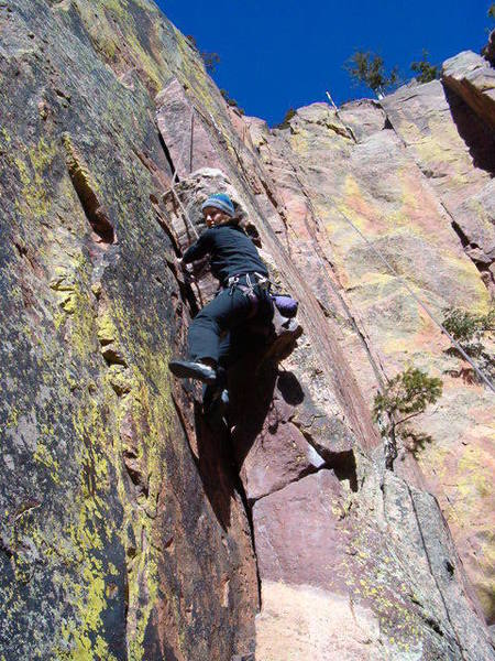 Pulling the first crux