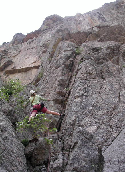 Irina Overeem starting up Heart of the Narrows.