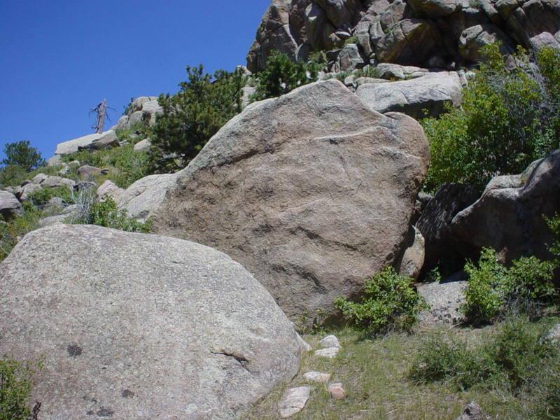 Sweet Sweet Lovin' in the Original Boulders, Campjack Rocks