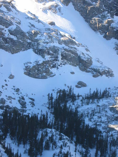 Grace Falls from Lake Helene bench.