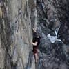 Climbing wonderwall