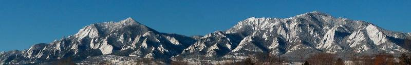 2/7/2003 from near Foothills Parkway and Arapahoe (Eisenhower School)