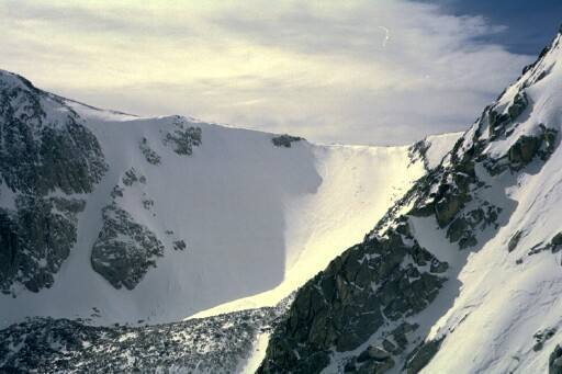 taken 1/2002 looking up tyndall gorge