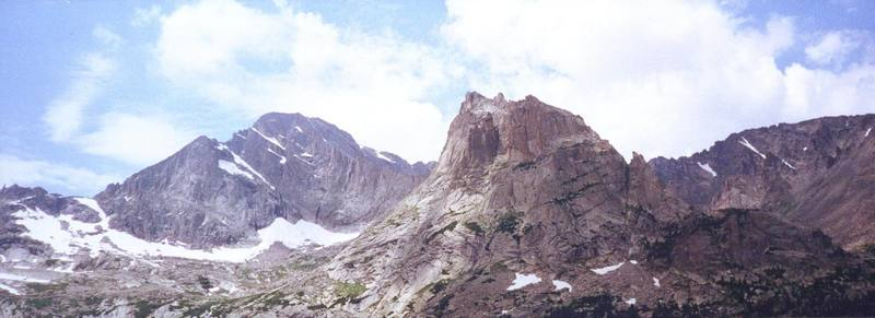 From left to right: McHenry's, Arrowhead, and Thatchtop.