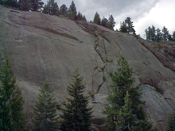 Silver Cascade Slab taken on 5/11/03