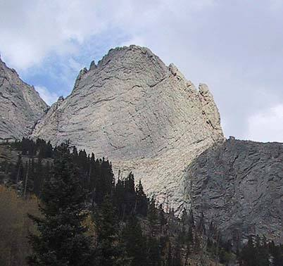The west side of The Prow from the approach.
