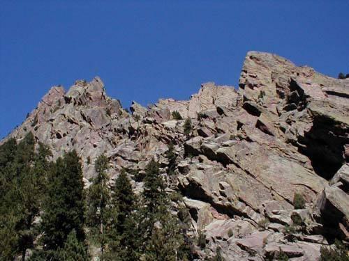 Lower West Ridge.