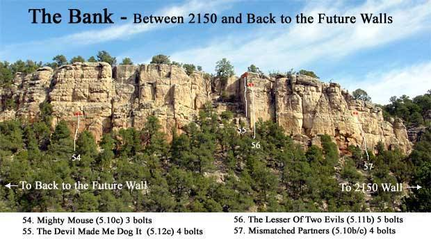 Between 2150 Wall and Back to the Future Wall