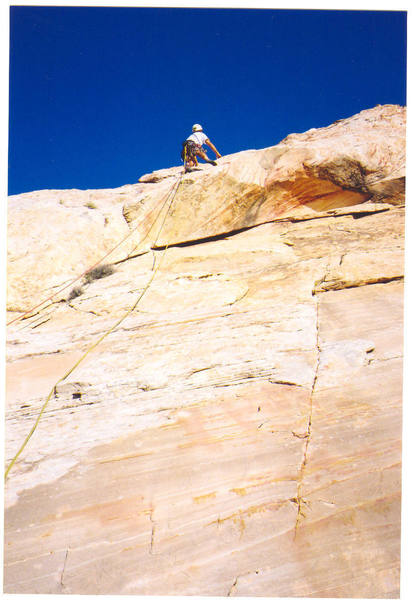 """Climber on Pitch 1 """"Why Not"""""""