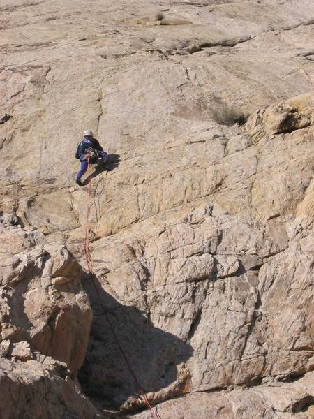 Paul leading Pitch 1<br>