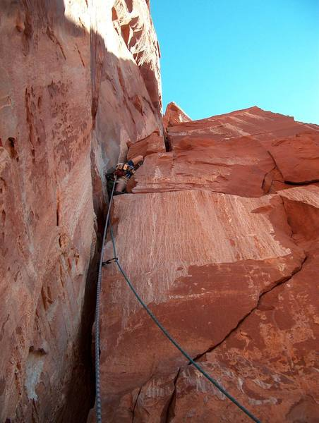 Eli starting out on pitch 3.
