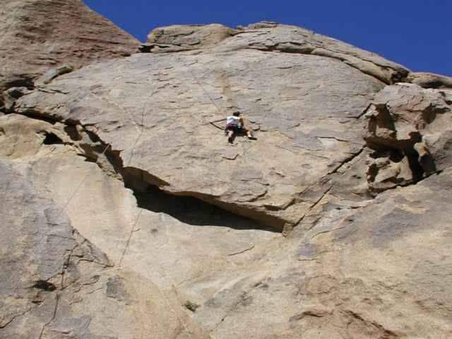 5.10b4me just past the crux (the step across)