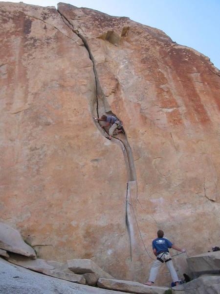 photographer Patrick Olson, climber Luke Olson, enjoying O'Kelley's