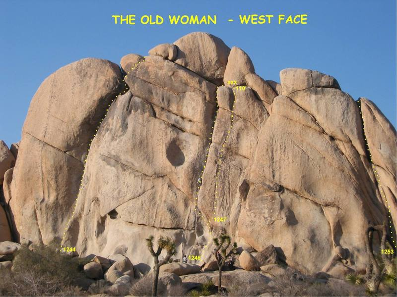The Old Woman - West Face