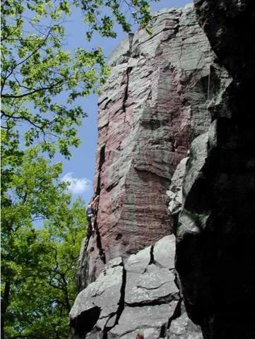 Unknown Climber on Brinton's Crack