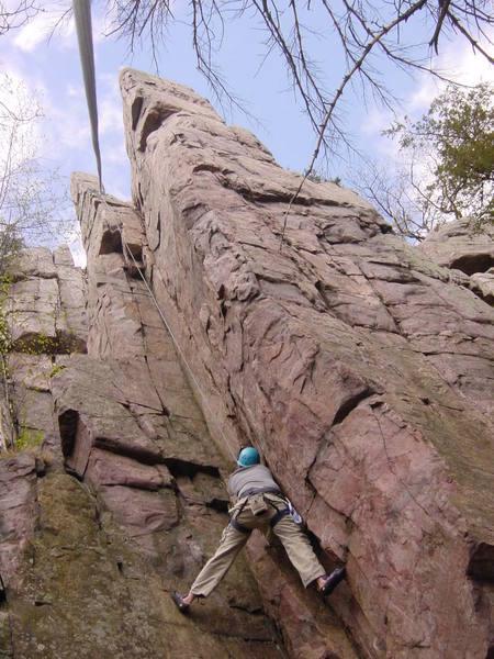 Good climb but too short.
