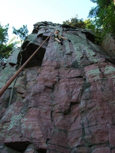 this climb was fun