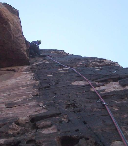 Leading pitch 1 (note gear supplementing bolts).