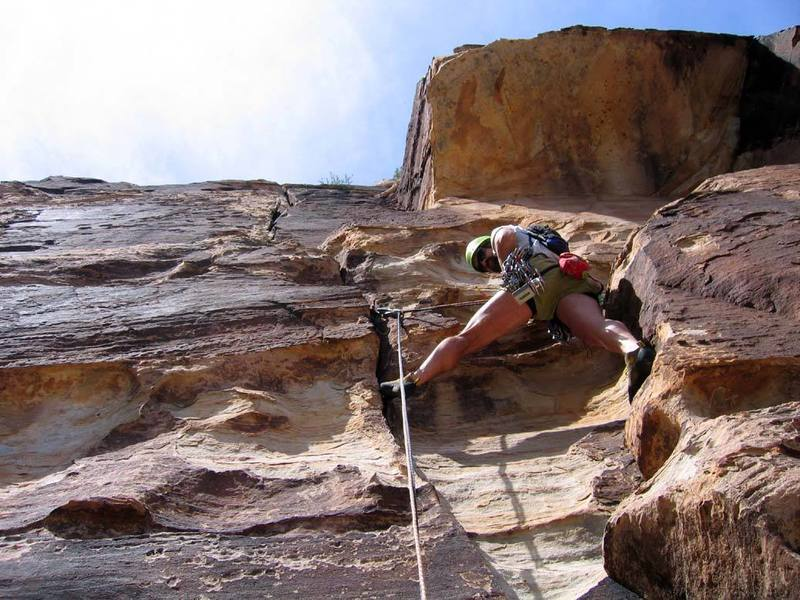 """The start of the 4th pitch, the """"offwidth"""" pitch."""