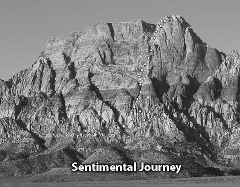"Standard ""postcard"" view of Sentimental Journey"