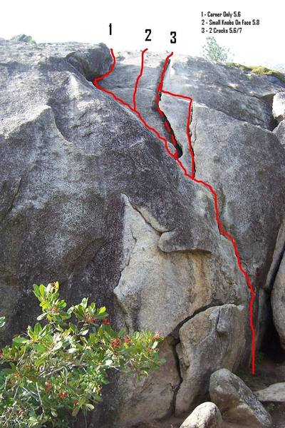 Beginners Cracks from the base.