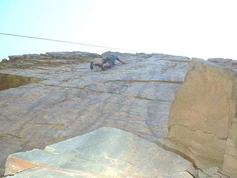 1st time I climbed this (2002) I struggled cause I fought the jams. Not this time. Love those jams.<br>