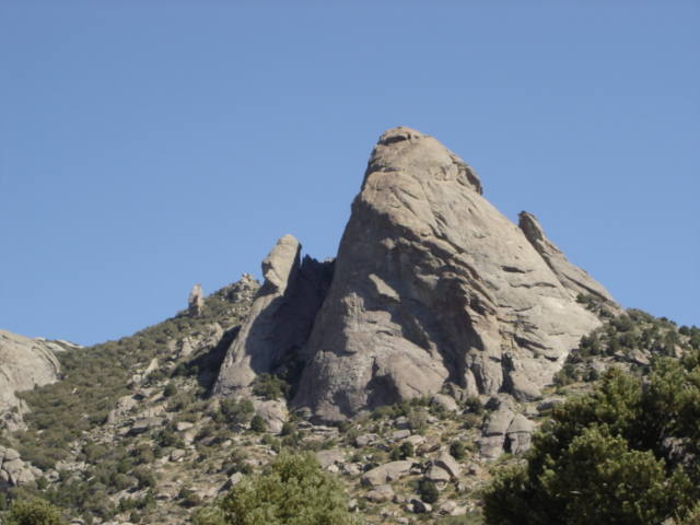 Steinfell's Dome and Jackson's Thumb