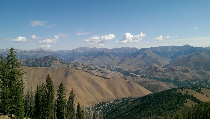 Views of the Wood River Valley