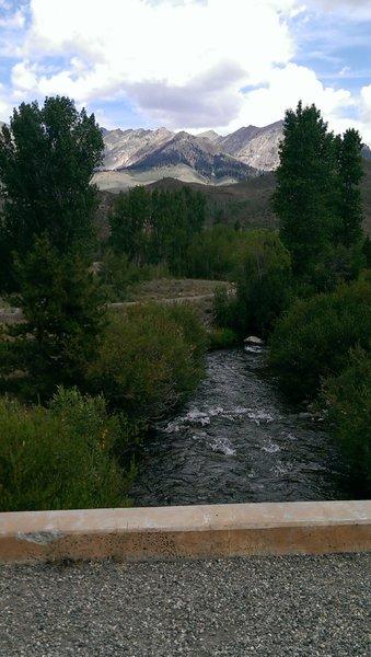 Baker Creek from the Harriman Trail