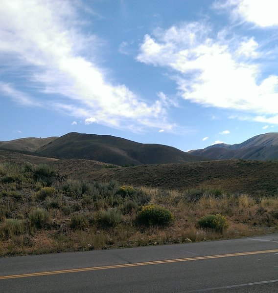 Views eastward