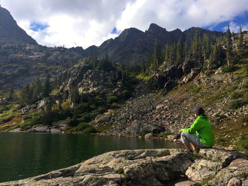 Rest at Fancy Lake
