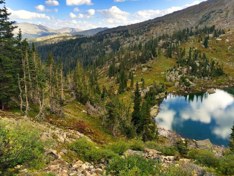 Beautiful view of Fancy Lake
