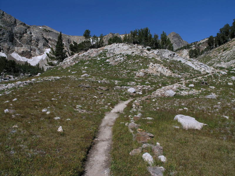 Hiking up Paintbrush Canyon.<br> Image by the National Park Service (NPS).