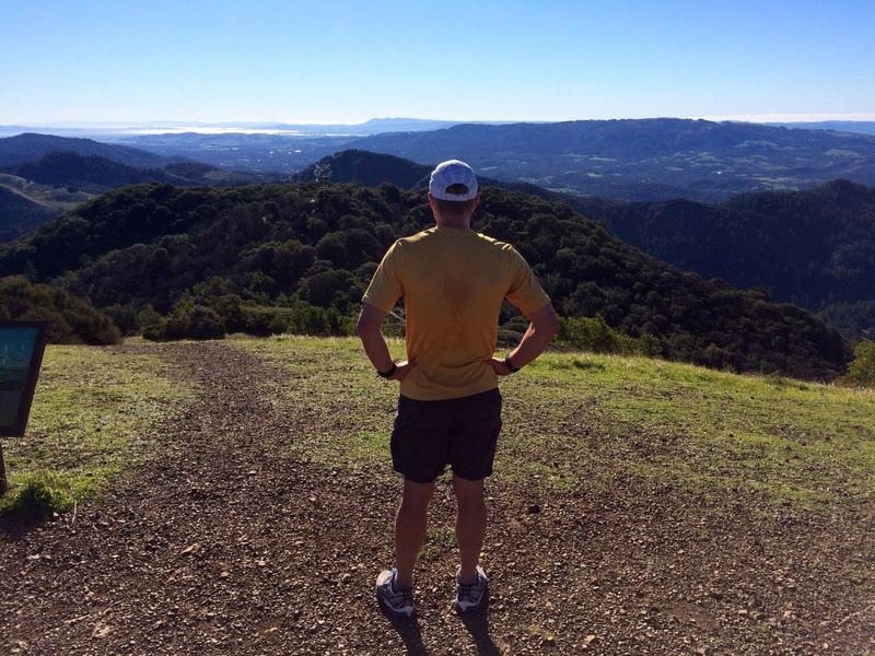 Looking towards SF bay from the top of Bald Mountain