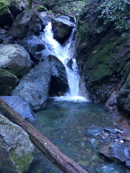 Sonoma Creek waterfall