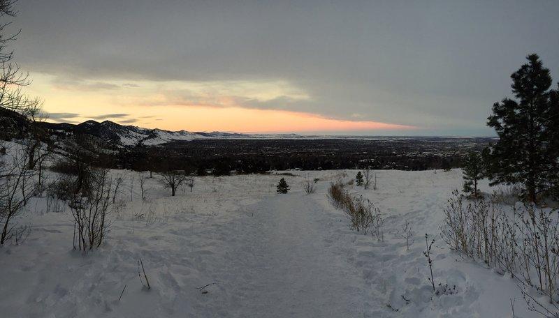 Boulder Colorado - Winter Wonderland