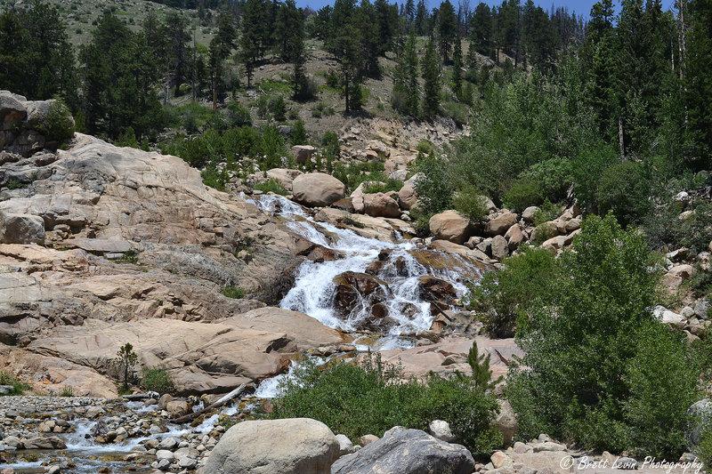 Waterfall at the Alluvial Fan