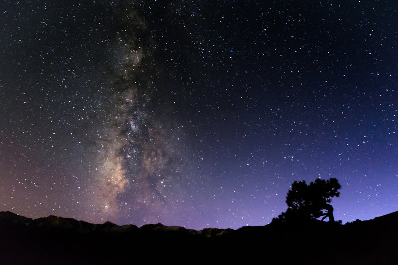 Milky Way from the park