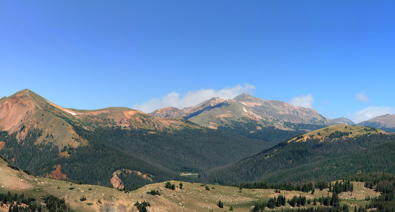 Diamond Peaks to Clark Peak Panorama with permission from Ed Ogle