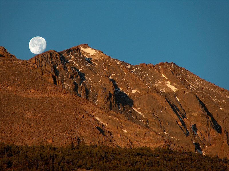 Mt. Meeker at Dawn, Rocky Mountain National Park, Colorado with permission from Richard Ryer