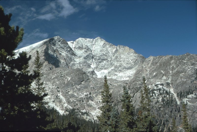 Ypsilon Mountain, RMNP (Fall 1979) with permission from BoulderTraveler