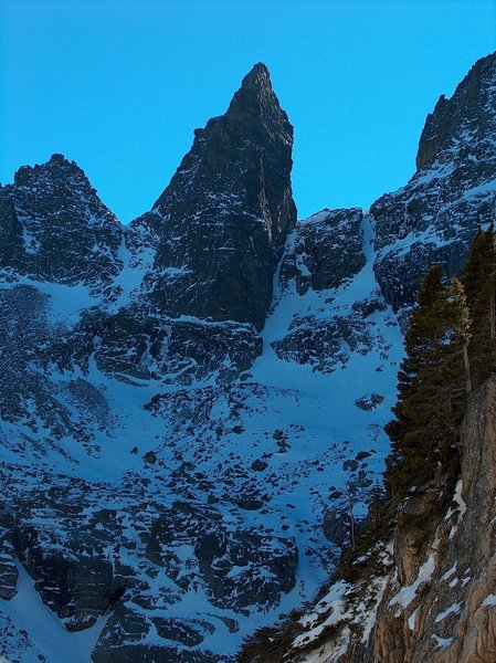 Shark's Tooth, Andrews Gorge, Rocky Mountain National Park, Colorado with permission from Richard Ryer