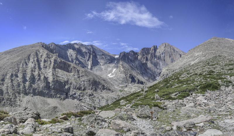 Longs Peak and Mt Meeker