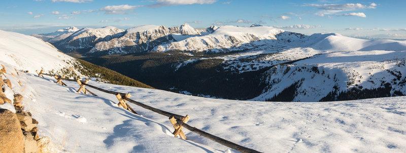 Snowy Trail Ridge Road