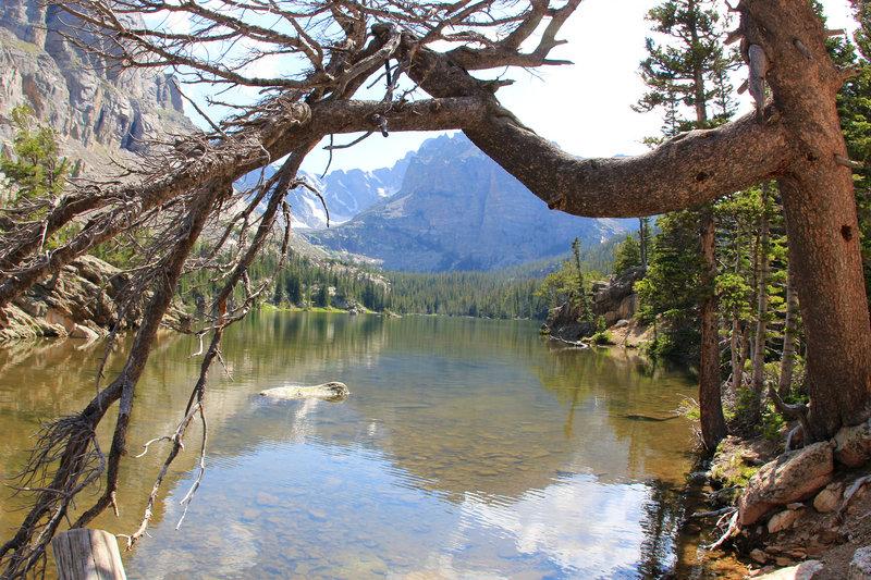 The Loch lake
